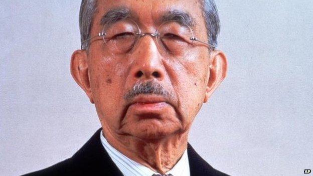 Emperor Hirohito in 1982