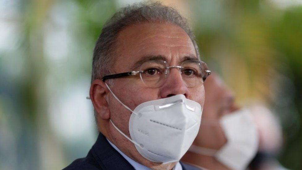 El nuevo ministro de Salud brasileño.