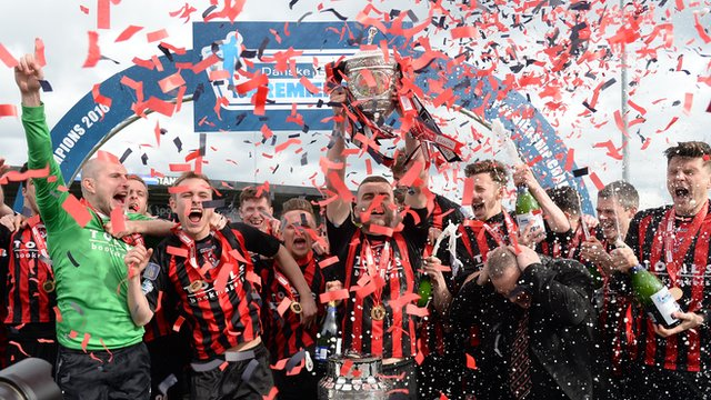 Champions Crusaders lift the Gibson Cup for the second year in a row at Seaview