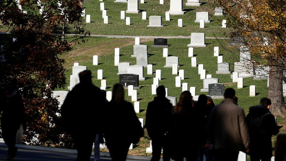 Arlington cemetery - graves