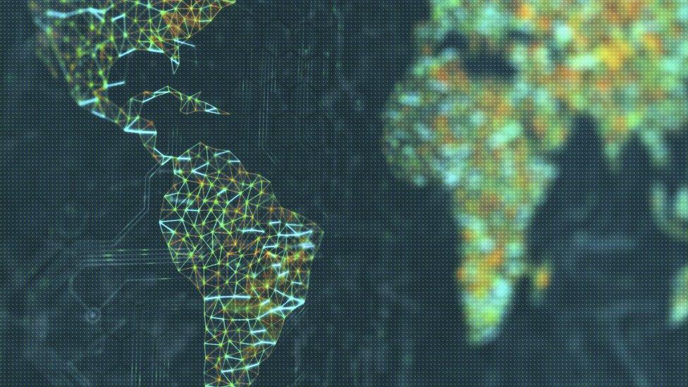 Red de datos mundial