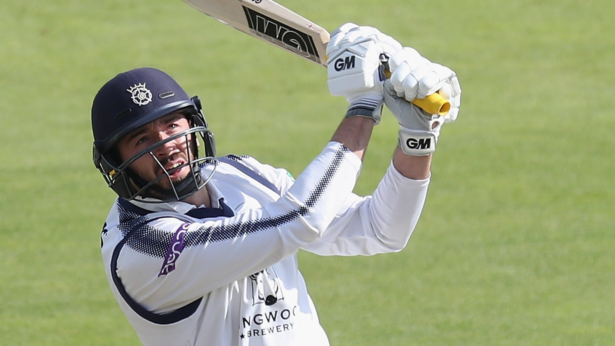County Championship: Hampshire captain James Vince stars with 147 v Notts