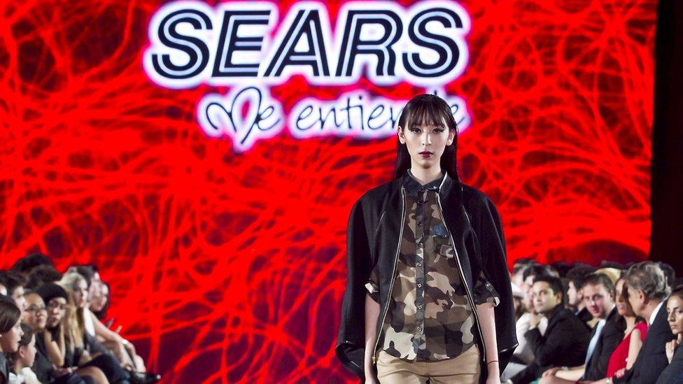 Sears es la segunda cadena más importante en el mercado de moda en México.