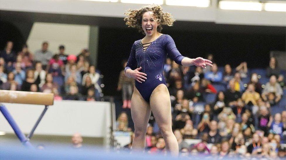 Кейтлін Охаші: як гімнастка підкорила серця мільйонів і що вона про це думає