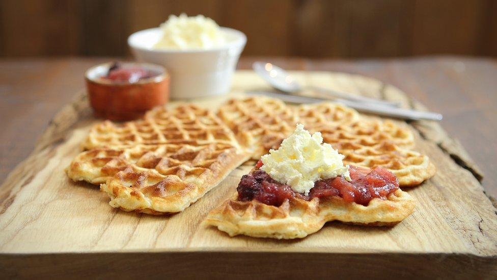 Balzersens waffle