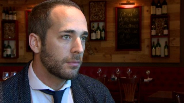 Olivier D'Uzes says three of his friends were shot at the concert in the Bataclan, Paris.