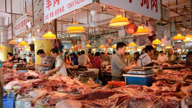 سوق في الصين