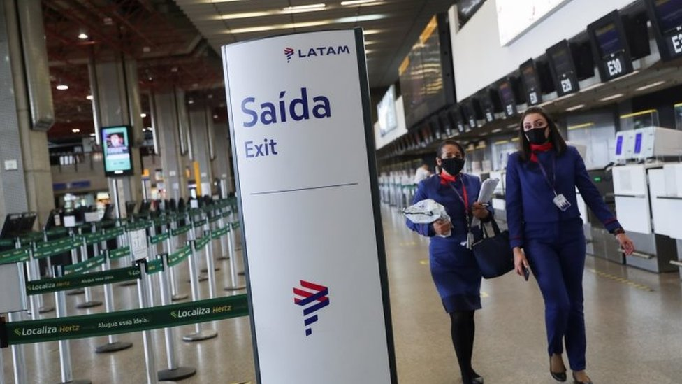 Aeropuerto en Brasil.