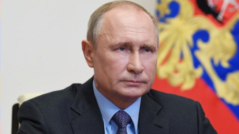 President Putin, 7 May 20
