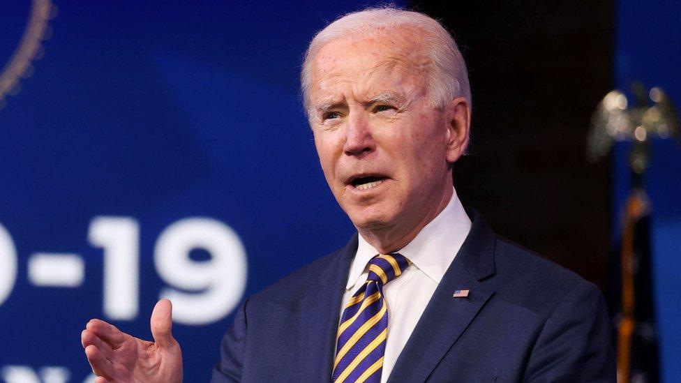 جو بايدن الرئيس الأمريكي المنتخب