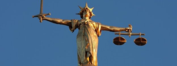 Lady Justice, the Old Bailey