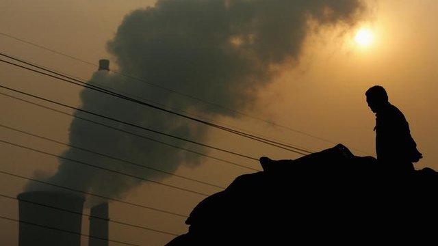 Power plant in Beijing