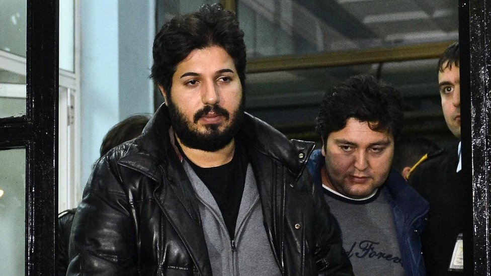 Reza Zarrab is taken into custody by Istanbul police (17 December 2013)