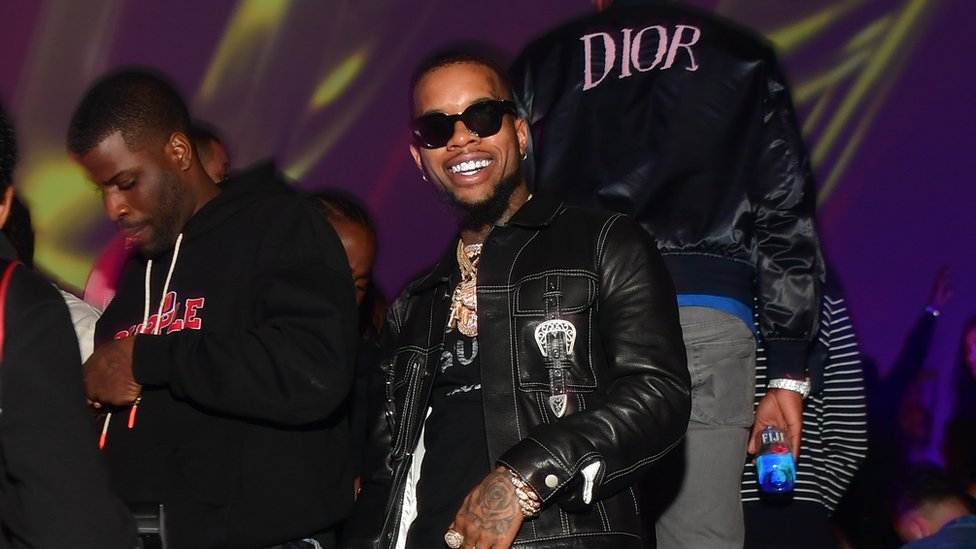 Rapper Tory Lanez hasn't spoken out about the alleged shooting