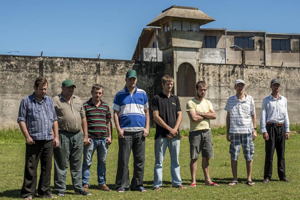 Prisión de Palmasola, en Santa Cruz de la Sierra, Bolivia.