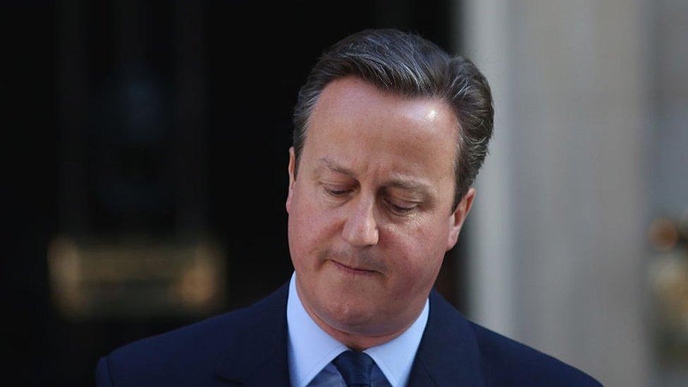 David Cameron, primer ministro de Reino Unido entre 2010 y 2016.
