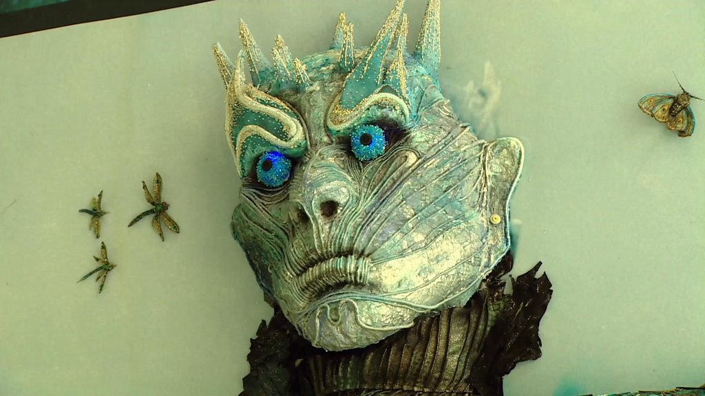 Game of Thrones embroidery unveiled in Glasgow