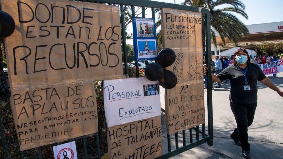 Hospital en Chile pide más recursos