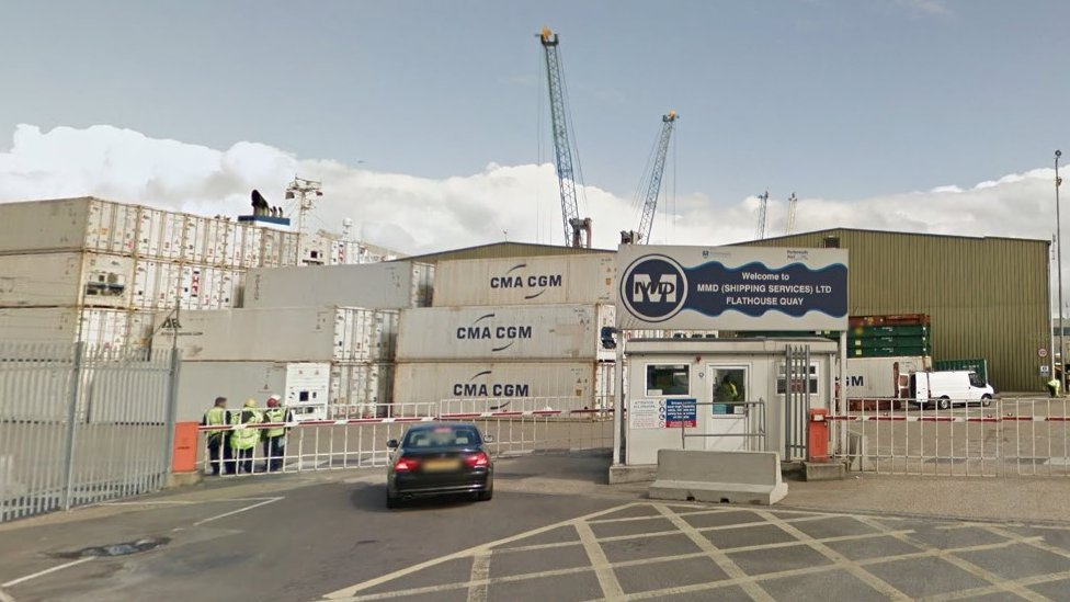 Portsmouth MMD port workers where man died 'ignored safety'