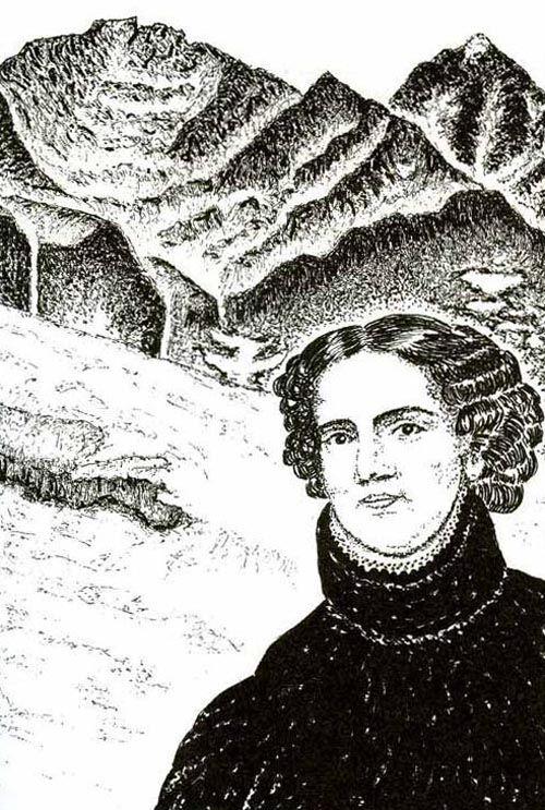 Ilustración de Anne Lister.