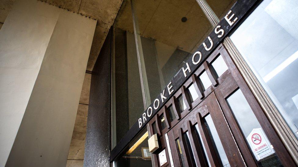 Brooke House sign