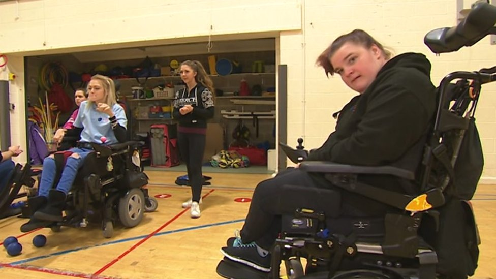 Unsung Hero 2018: Boccia club founder Gemma Mitchell, who has cerebral palsy, is the South winner