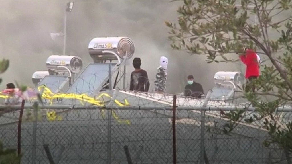 Moira migrant camp clashes
