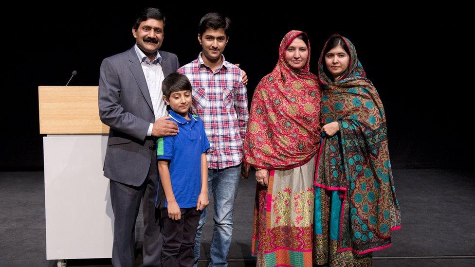 The Yousafzai family