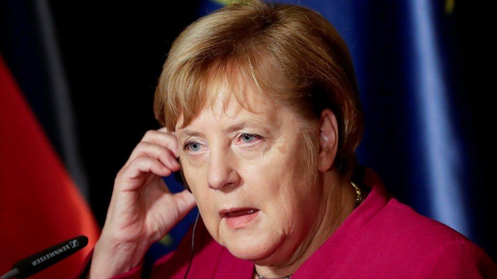 Merkel snimljena 26. oktobra 2018