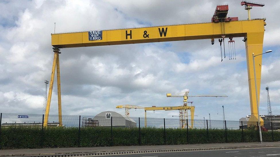 Harland Wolff cranes, Belfast