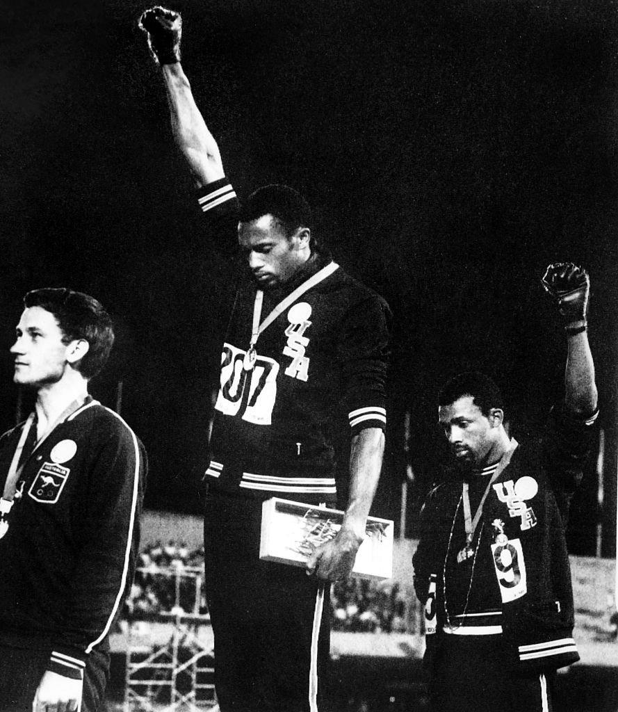 El Black Power de Tommie Smith en las Olimpíadas de México 68 y la protesta  que continua 377fbcb05cba3