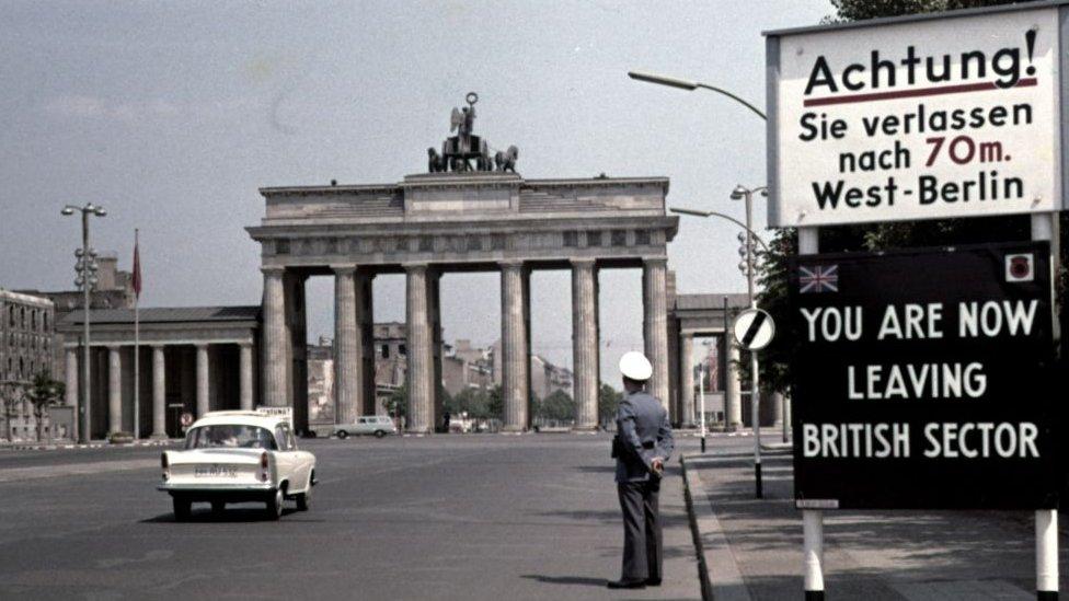 Berlin je bio podeljeni grad do 1989. godine