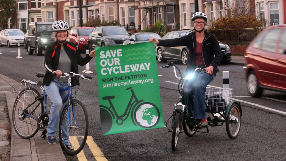 North Tyneside doctors campaigning to keep the cycle lane