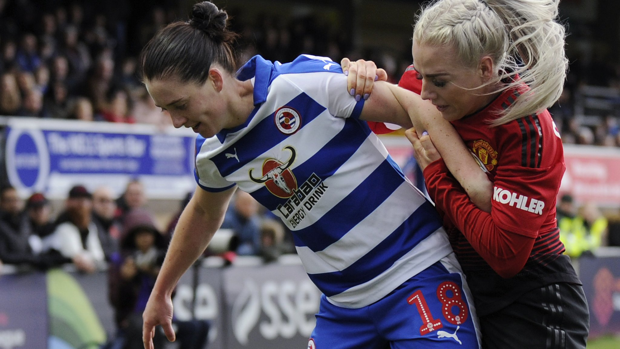 Women's FA Cup: Reading Women 3-2 Manchester United Women AET