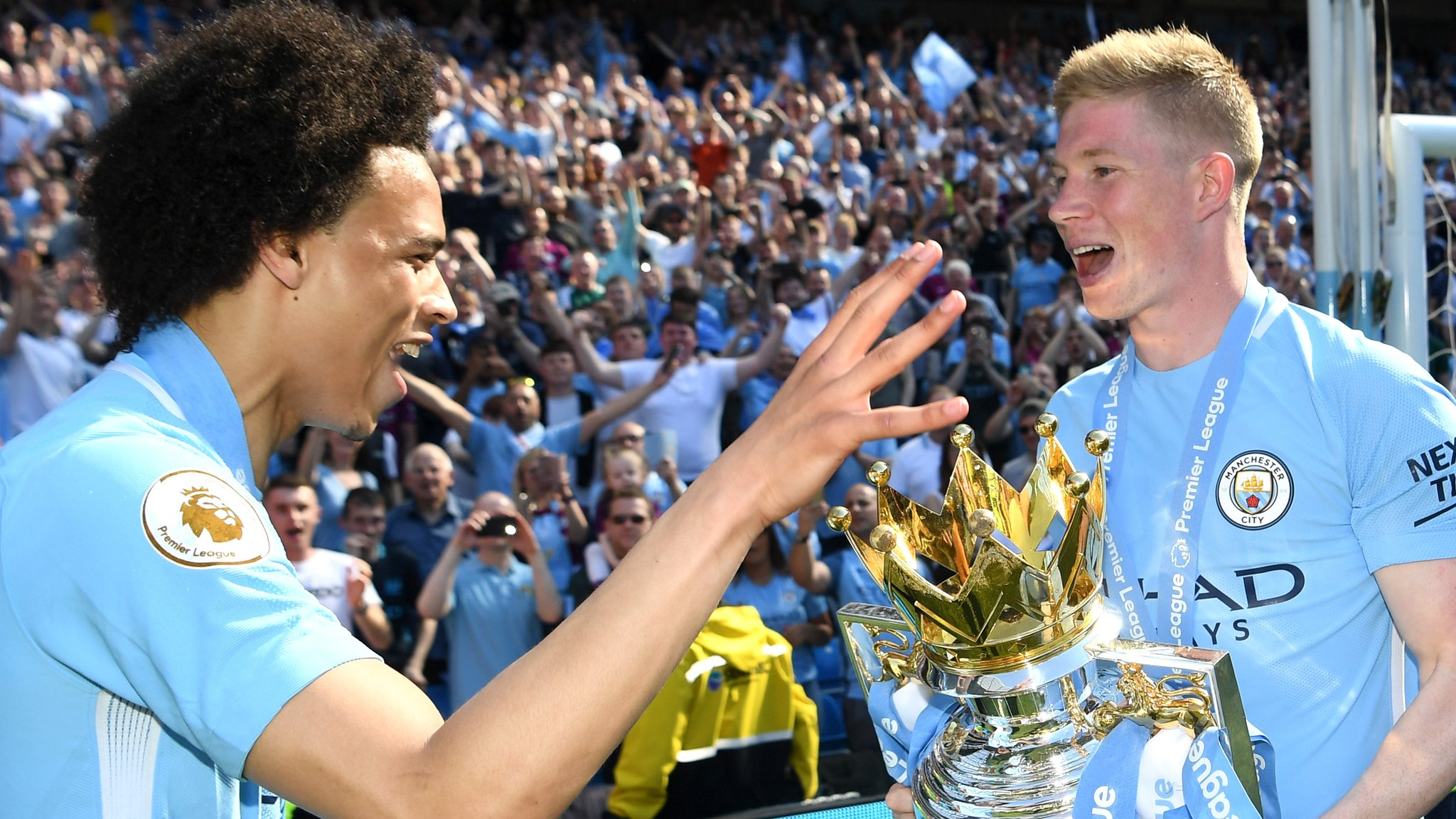 'Last year was almost perfect' - De Bruyne on the title, Guardiola & City's behind-the-scenes doc