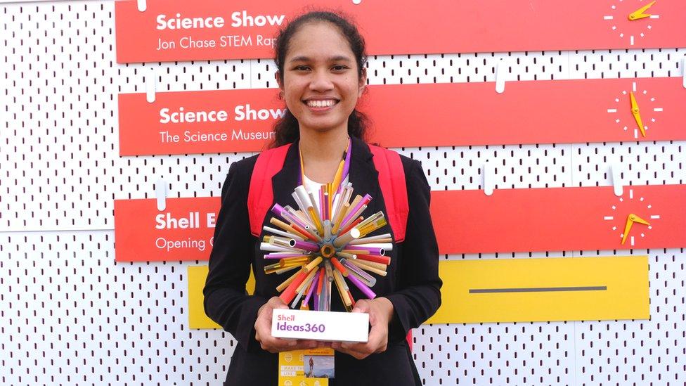 Mahasiswa RI Juara Dunia Teknologi Mobil Bahan Bakar Sampah Plastik