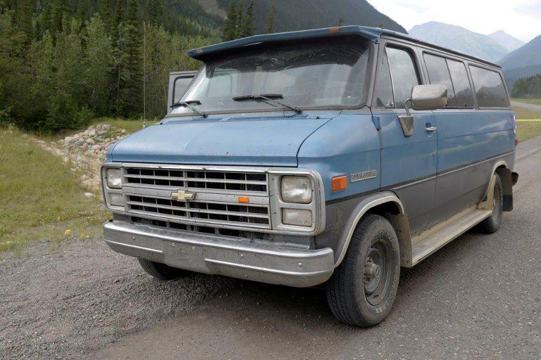 La camioneta de Deese y Fowler