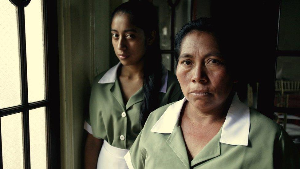 """María Telón y María Mercedes Coroy en """"La llorona"""" (2019)"""