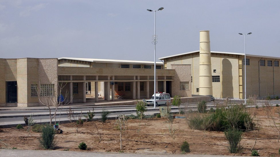 Natanz uranium enrichment facility in Iran (9 April 2007)
