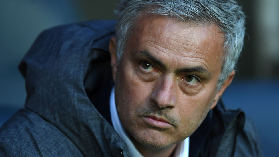 José Mourinho in file photo from 24 May
