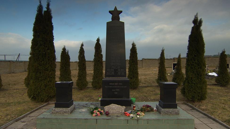 Memorial at Psov
