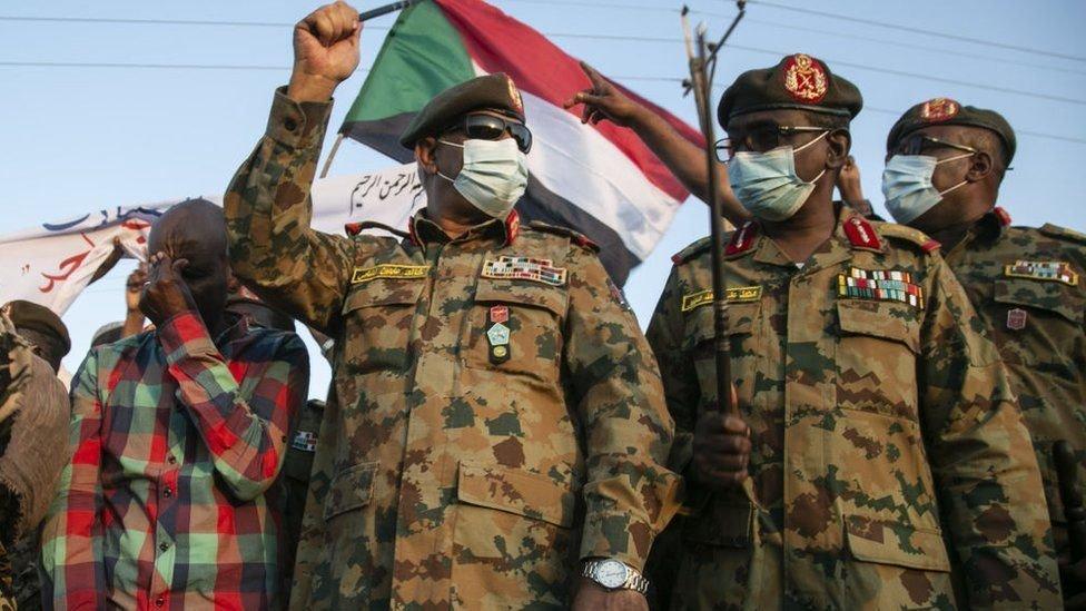 وزير الدفاع السوداني عبد الفتاح البرهان أعلن التصدي للهجوم الإثيوبي