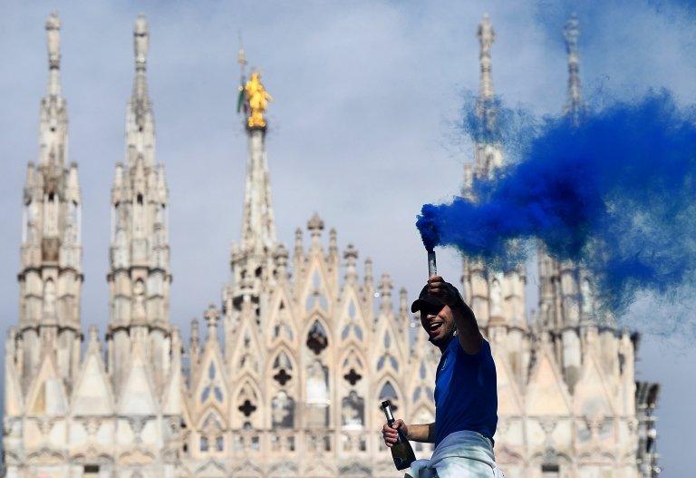 Inter Milan taraftarları