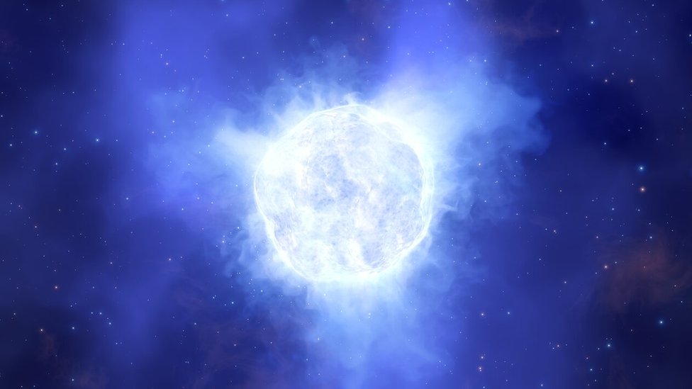 Luminous blue variable star in the Kinman Dwarf galaxy Plava