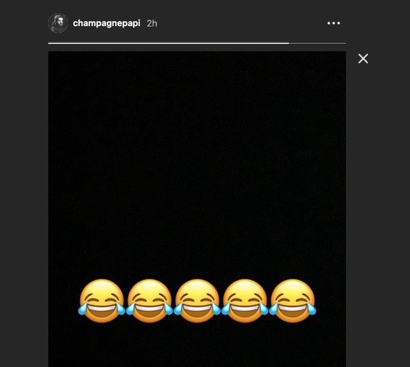 Drake's Instagram post