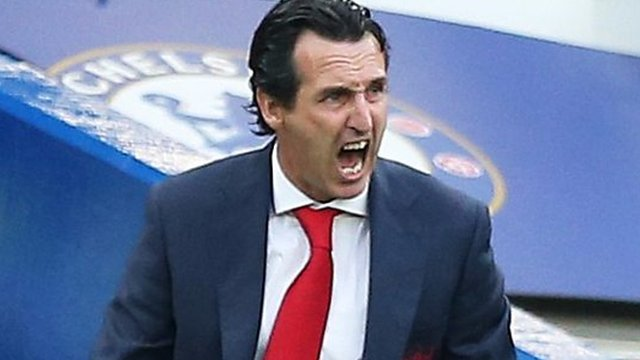 Chelsea 3-2 Arsenal: Unai Emery says Gunners must improve their 'stability'