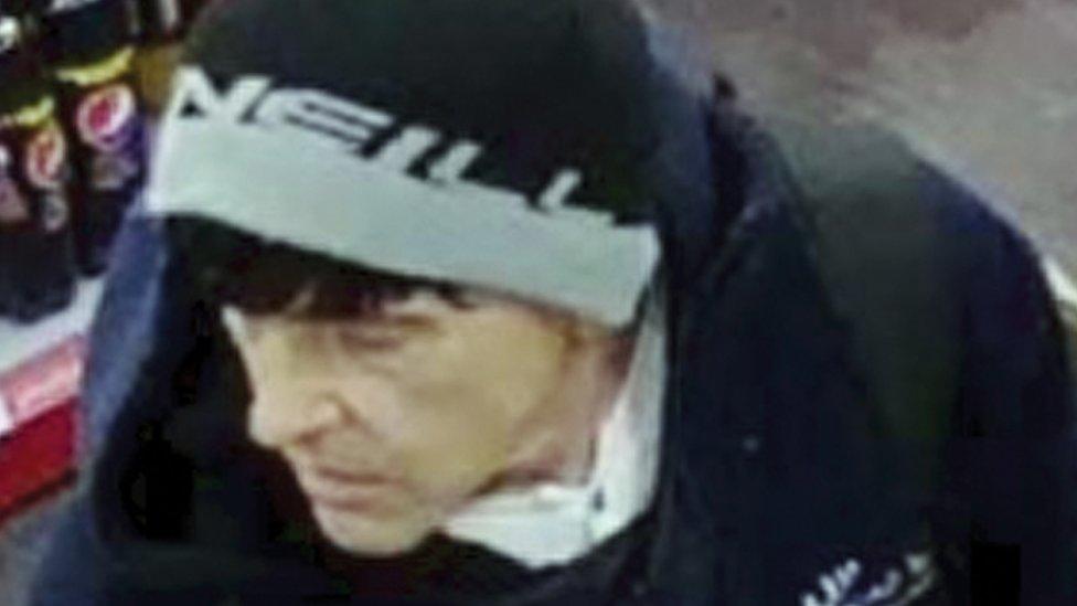 Pendine murder suspect Steve Baxter 'seen wearing wig'