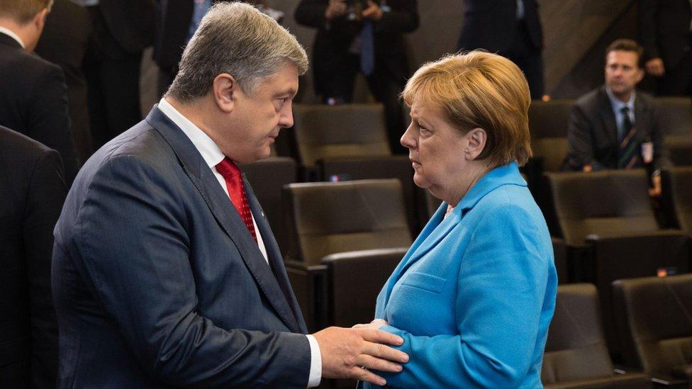 Візит Меркель в Україну: на порядку денному - Азов