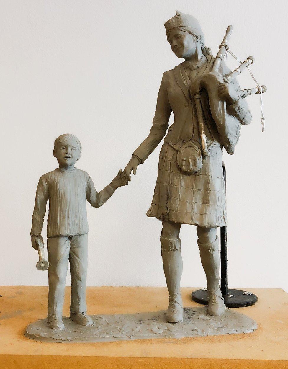 Design of new sculpture