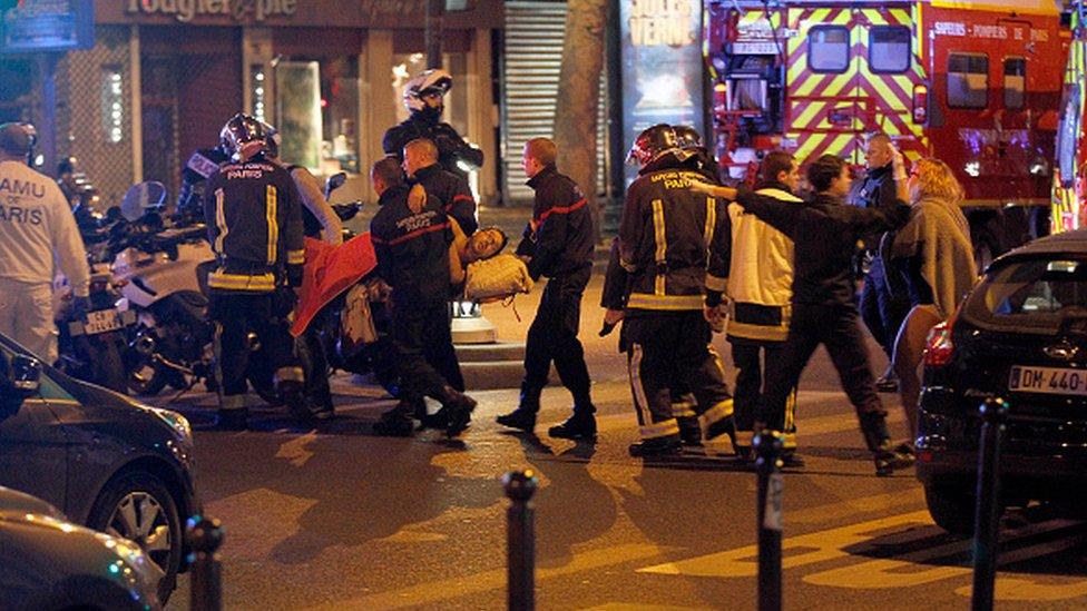 Serangan di Boulevard des Filles-du-Calvaire November, 2015 Paris